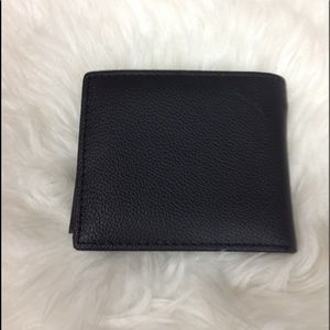 Other - Black leather wallet